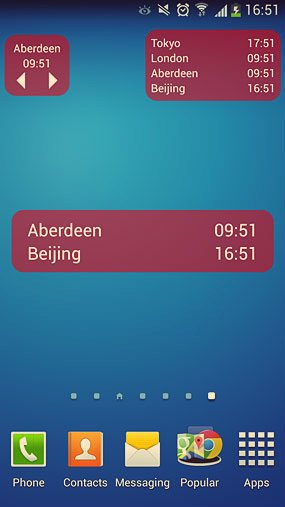 world clock and widget_2