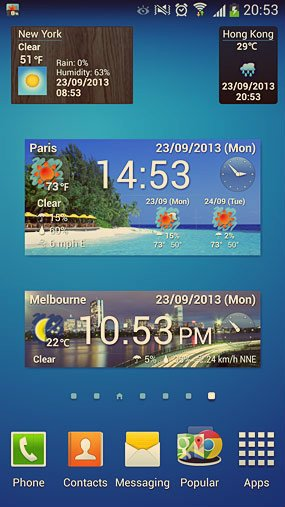 world weather clock widget_2