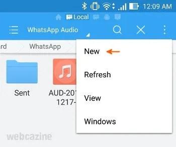 whatsapp audio folder_1