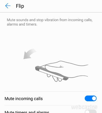 honor8 mute incoming calls_1