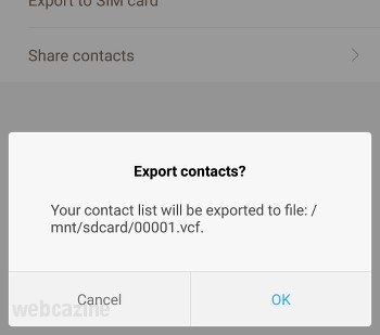 miui8 export mi contacs_2