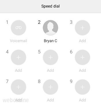 honor speed dial_1