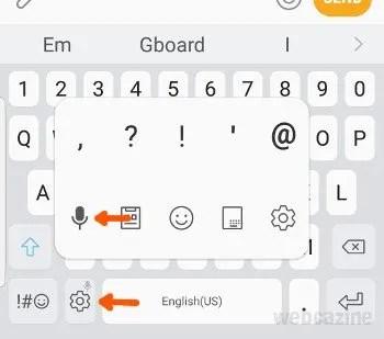 samsung keyboard mic key_1