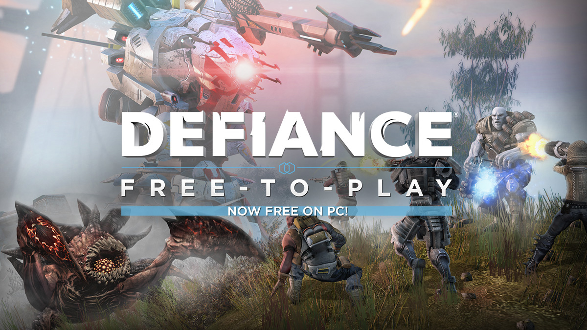 Defiance PC Amp Console Game Shooter MMO
