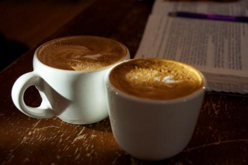 Always in search of the perfect cappuccino