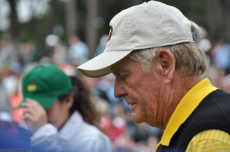 Jack Nicklaus after Gary Player's hole in one.