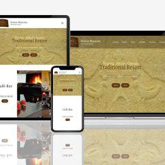 Seirios Mansion responsive website