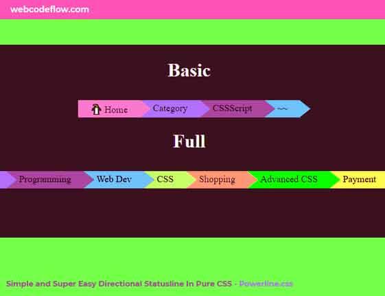 Easy-Directional-Status-Line