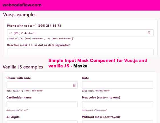Input-Mask-Component