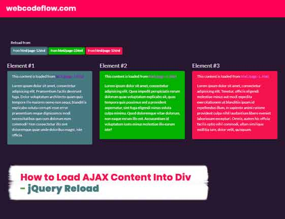 Load-AJAX-Content-Into-Div