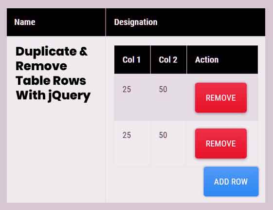 Remove-Duplicate-Rows-jQuery