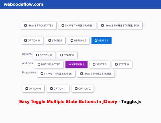 Toggle-Multiple-State-Buttons