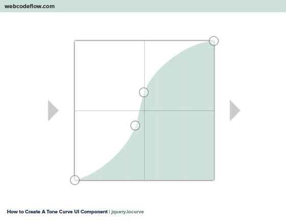 Tone-Curve-UI-Component