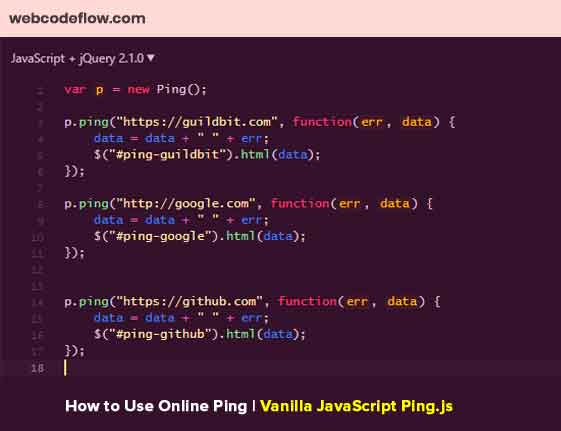 Use-Online-Ping
