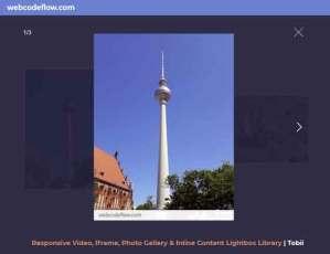 lightbox-Popup-gallery