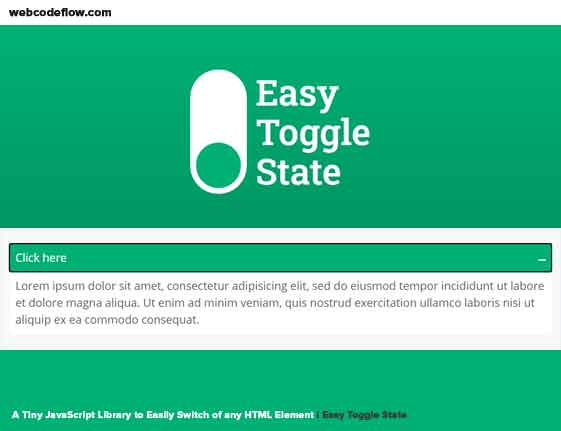 Easy-Toggle-State