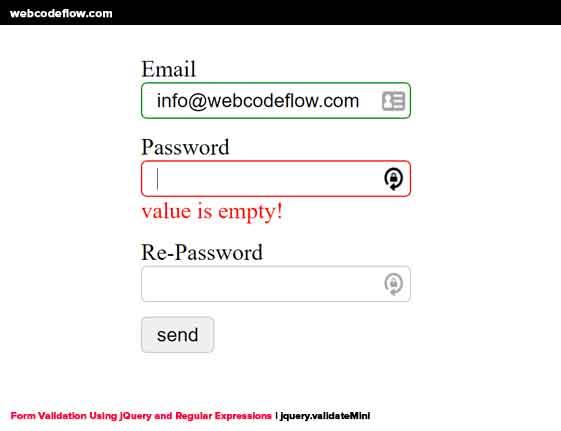Form-Validation-Using-jQuery