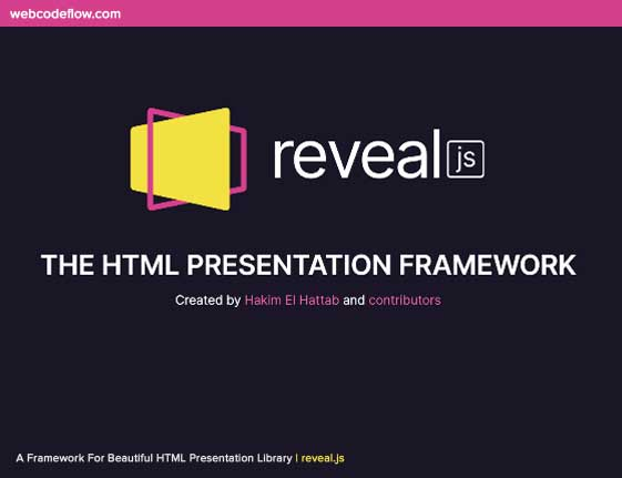 Beautiful-HTML-Presentation-Library