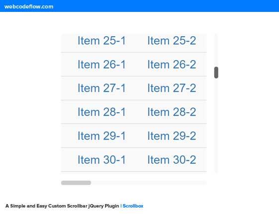 Custom-Scrollbar-jQuery-Plugin