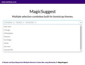 Responsive-Multiple-Selection-Combo-Box-using-Bootstrap-3