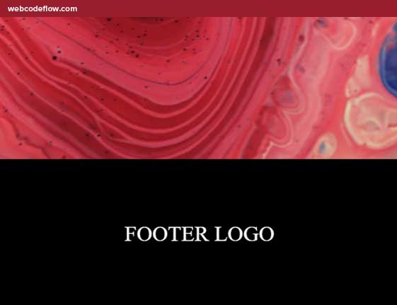 Footer-Reveal-Animation-Demo