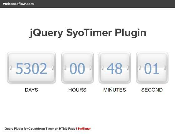 jQuery-SyoTimer-Plugin