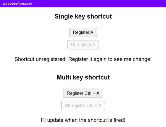 Global-Keyboard-Shortcut-Event-Handler-Shortcut