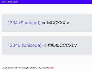 Convert-to-Roman-numerals