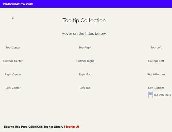 Tooltip-UI