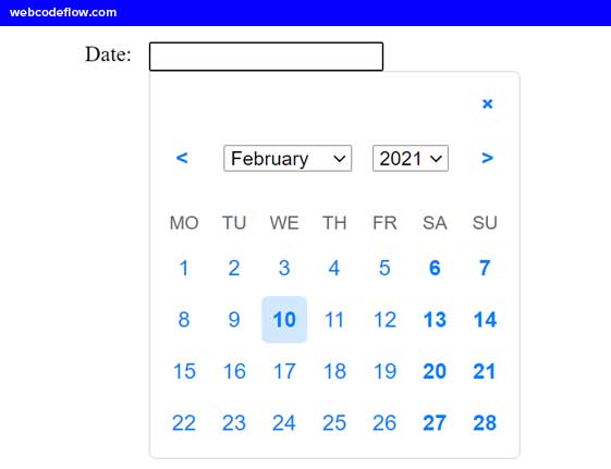 Date-Picker-Plugin