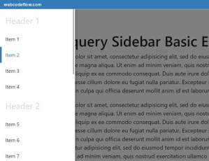 Fxp-jQuery-Sidebar