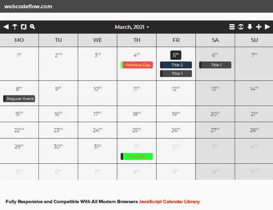 calendar-js-library