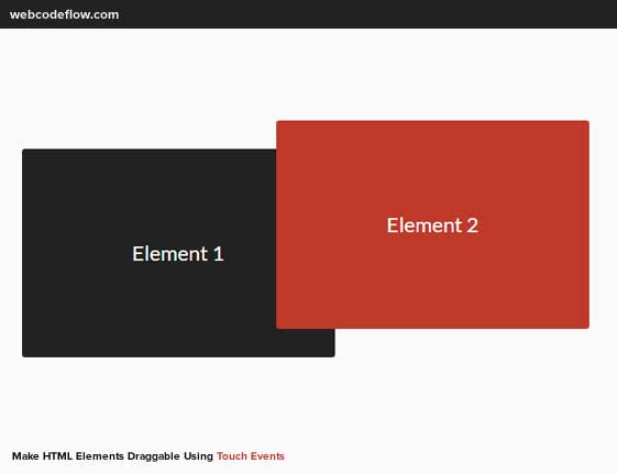 jquery-draggable-touch