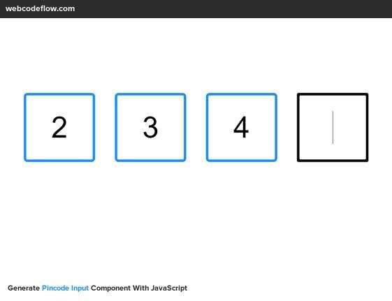 pincode-input