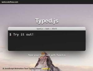 text-typing-typed-js