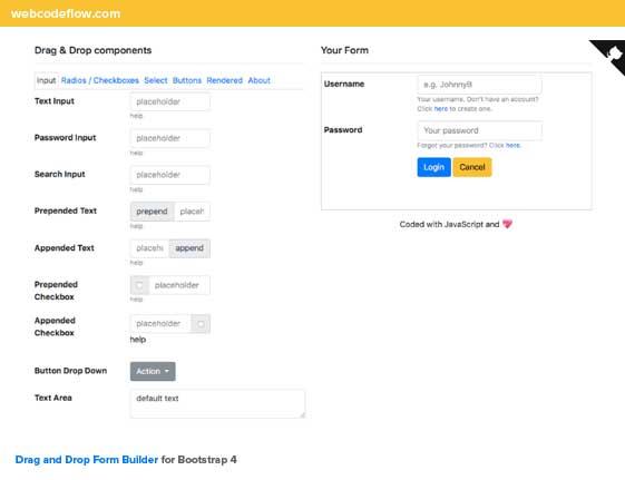 bootstrap-v4-form-builder