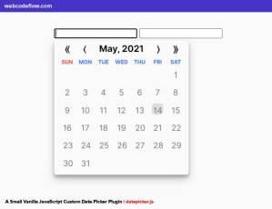 custom-date-picker-js