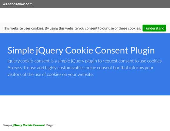 jquery-cookie-consent