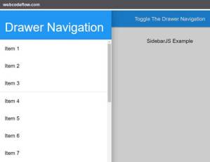 mobile-sidenav-sidebarjs