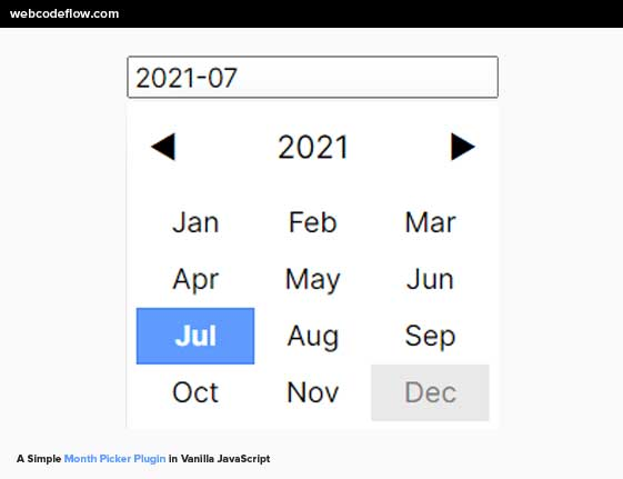 month-picker-plugin