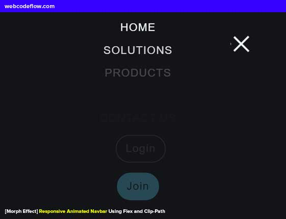 responsive-animated-navbar-morph-effect