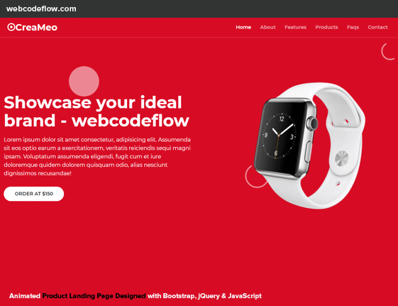 landing-page-bootstrap-template