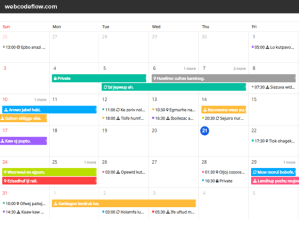 javascript-event-calendar