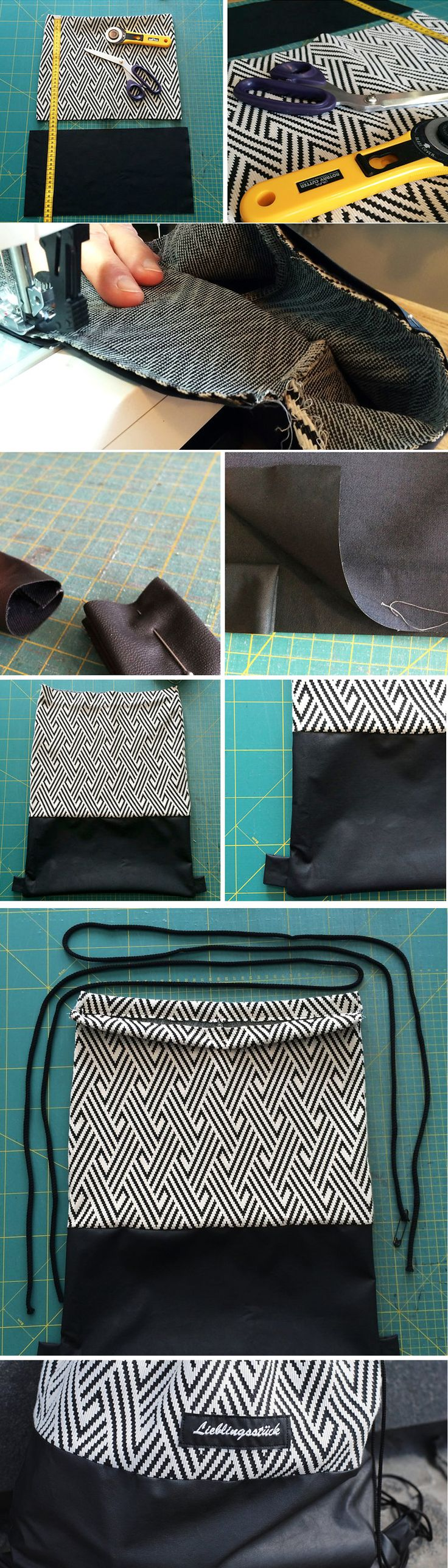 DIY GYMNASTIC BAG