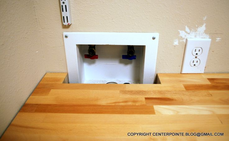 how to support countertop over washer and dryer – Google Search