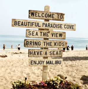 This is one of the beaches I grew up on in Malibu.  Great place for families with a yummy restaurant right