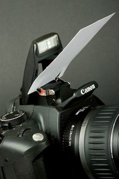DIY and hacks for photography.    1. All you need is a white business card and a pair of scissors    (knif