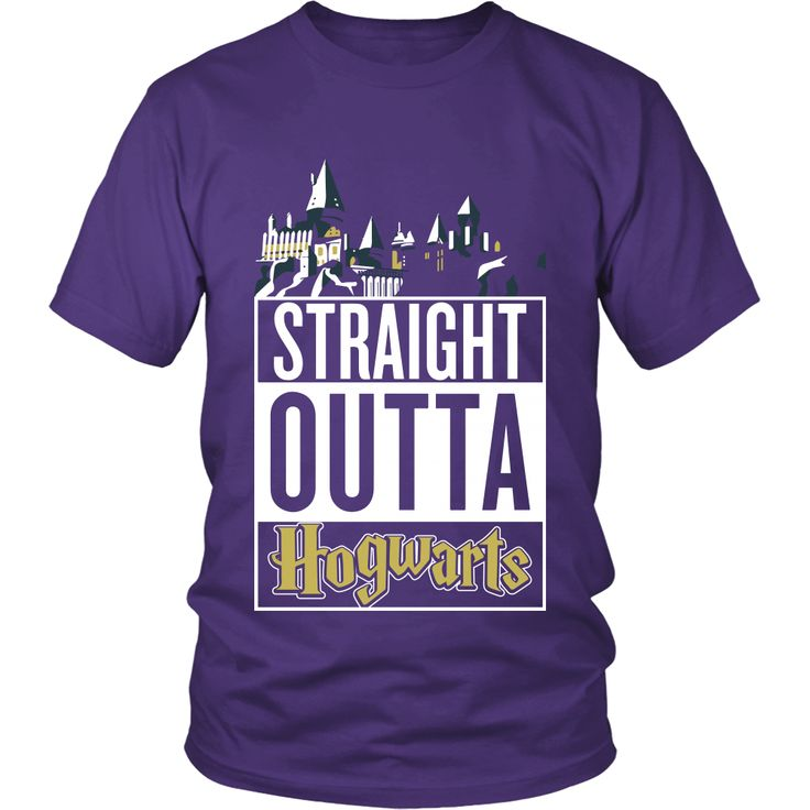 """Harry Potter """"Straight Outta Hogwarts"""" Shirt or Hoodie"""