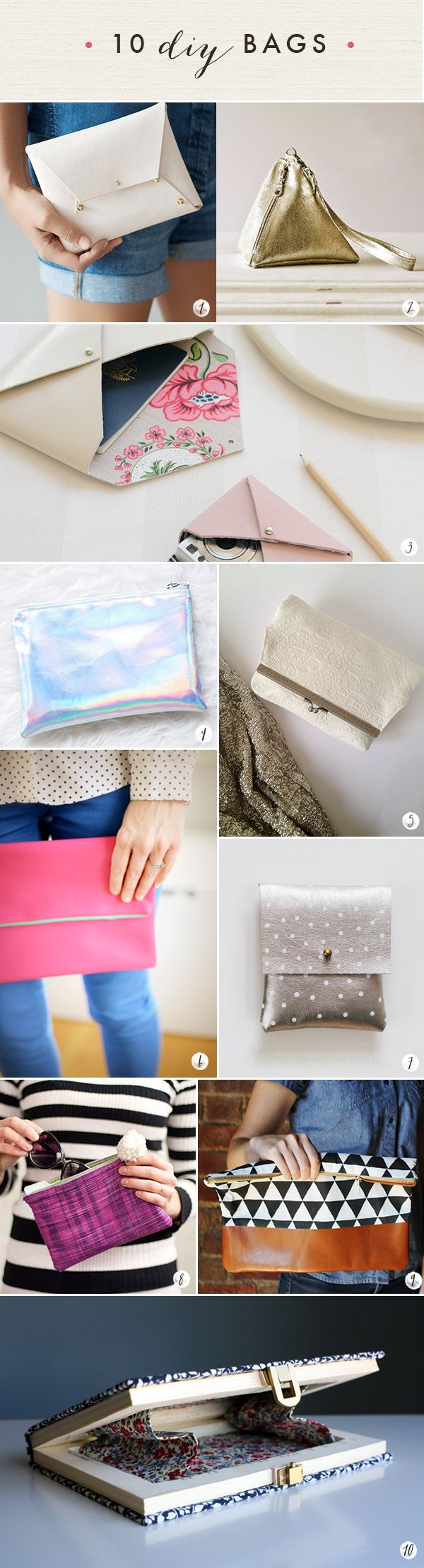DIY Tutorials – Oh the lovely things: 60 DIY Accessories – Last Minute Gifts For Fashionistas