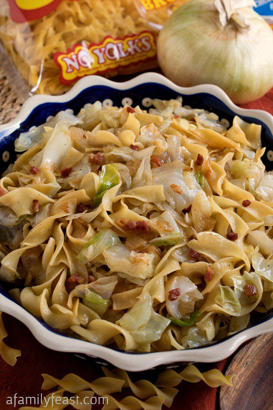 Haluski – A simple,rustic and traditional dish made with fried cabbage and noodles. Pure, delicious comfor